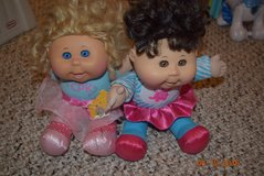 cabbage patch kids dolls set of 2 used in Bolingbrook, Illinois
