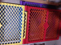 North States Colorful Baby Play Yard/Fence in Elgin, Illinois