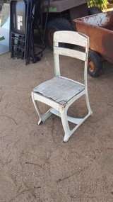Old school chair in Yucca Valley, California