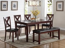 6PC DINING SET FREE DELIVERY in Camp Pendleton, California
