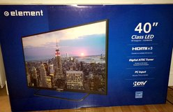 "Brand New 40"" Flat Screen TV w/ 2 Year Warranty in Fort Drum, New York"