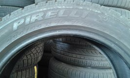 WInther tires Pirelli 235/55/R19 in Hohenfels, Germany