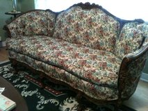 Antique Matching Couch, Chair and 2 Pillows in Eglin AFB, Florida