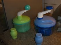 Tupperware quick chef + 2 matching egg cups in Ramstein, Germany