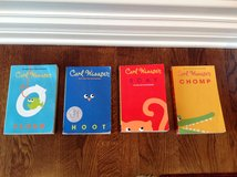 Set of 4 Paperback Books by Carl Hiassen (3-6th Grade Reading Level) in Bolingbrook, Illinois