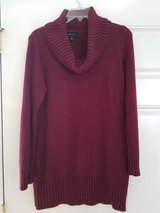Snuggly Soft And Warm Cowl Neck Sweater Size Large Long Enough To Cover Your Stomach! in Plainfield, Illinois