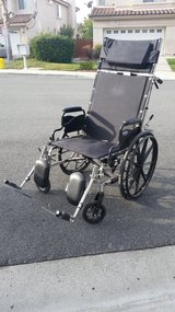 Invacare 9000 XT recliner with all attachments in Vista, California