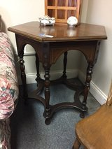 Antique Accent Table in Bartlett, Illinois