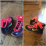 Nike Size 7.5 Boys basketball shoes in Buckley AFB, Colorado