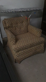 Tan chair in Leesville, Louisiana
