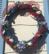 WREATH SEASHELLS & FLOWERS in Norfolk, Virginia