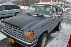 89 Ford Bronco II XLT 4 W/D Automatic in Fort Drum, New York