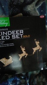 Reindeer Sled Set new in Lawton, Oklahoma