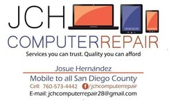 ***JCH COMPUTER REPAIR (WE GO TO YOU) VIRUS REMOVAL/FULL TUNE UP*** in Oceanside, California