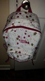 Jansport / Green / Pink / Polka Dot Backpack in Clarksville, Tennessee