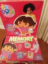 Dora the Explorer 3ft puzzle and memory game in Lawton, Oklahoma