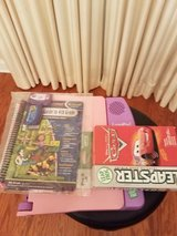 Leap Pad with 2 cartridges and Leapster Game in Lawton, Oklahoma