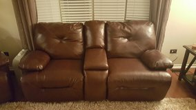 Reclining loveseat and reclining chair in Naperville, Illinois