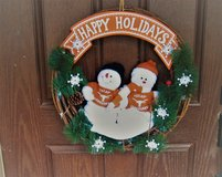 "NEW University of Texas Longhorns UT Christmas Holiday Wreath 18"" in Kingwood, Texas"