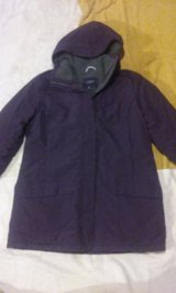 Like new Lands' End (The Squall) Woman's (Large 14-16) Jacket with removable hood in Joliet, Illinois