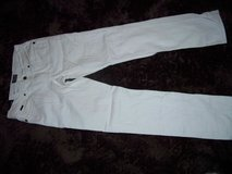 Empyre Pants size 28 Slim Skeletor White in Ramstein, Germany