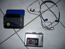 Radical walkman stereo-radio/cassette player w/case by AIWA in Ramstein, Germany