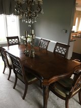 WALTER E SMITHE Dinning set and HEKMAN hutch in Naperville, Illinois