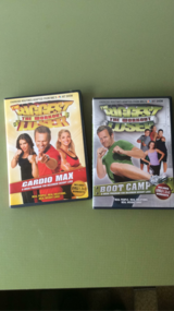 Two Biggest Loser Workout DVDs in Ramstein, Germany