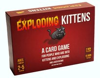 Exploding Kittens in Ramstein, Germany