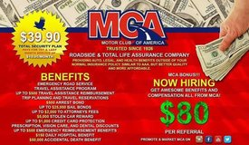 MCA 30k - 60k annually in Fort Bliss, Texas
