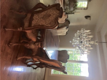 Beautiful dining room table with two leaves in Bolingbrook, Illinois