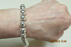 """Christmas Gifting -- Beautiful Silver Bracelet Size 7.5"""" - With Gift Box in Kingwood, Texas"""
