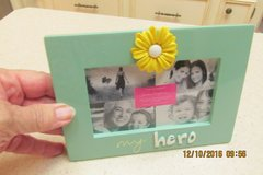 "Very Sweet ""My Hero"" Frame - 3"" by 5"" - NEW in Houston, Texas"