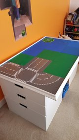 IKEA inspired LEGO Table with storage in Quantico, Virginia