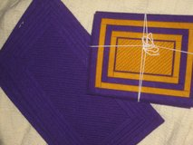 7 Gold and purple placemats in Kingwood, Texas