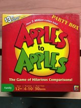 Apples to Apples Party Box in Fairfield, California