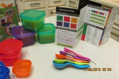 Portion Control Containers - 14-Piece Kit - NEW in Kingwood, Texas