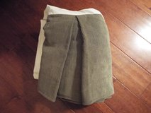 Croscill Corduroy Bed Skirt (Olive Green) in Camp Lejeune, North Carolina