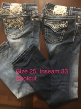 Miss Me Jeans, Size 25, Bootcut in Kingwood, Texas