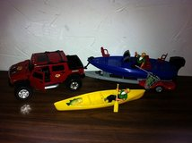 Bass Pro Hummer/Boat Toy Set in Chicago, Illinois