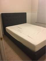 Queen size platform bed in Fort Bliss, Texas