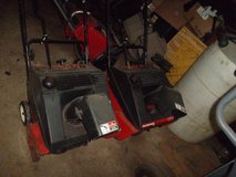 "For Sale:  MTD 21"" & 20"" Toro Snow Blowers in Glendale Heights, Illinois"