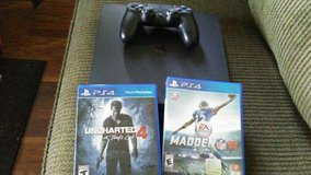ps4 with 2 games madden 2016 uncharted 4 in Pearl Harbor, Hawaii