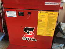 Safety Kleen parts washer solvent tank in Miramar, California