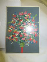 TILE BIRDS IN TREE PAINTING - NIB  NEW in Westmont, Illinois
