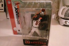 Bengals Chad Johnson action figure in Fort Campbell, Kentucky