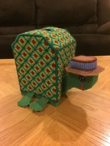 Reduced: Turtle Tissue Box Holder in Oswego, Illinois