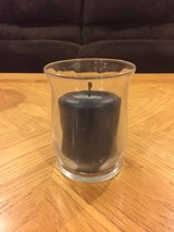 Candle Holder with Candle in Aurora, Illinois