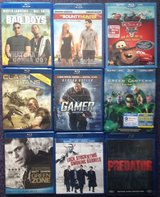 Assorted Movies (Bluray) in Okinawa, Japan