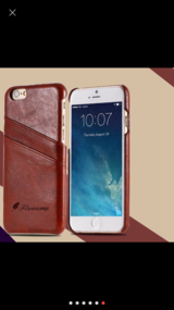 IPhone 6/6s card slot leather case in Fort Irwin, California